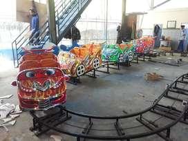 kereta rel gelombang mni coaster muat 16 anak