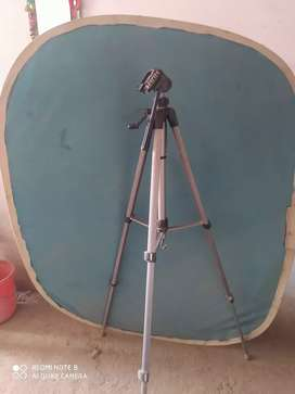 Tripod and Blue BackGround