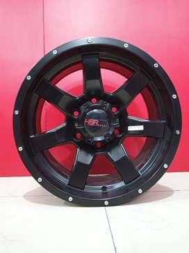 Velg mobil HSR Wheel Surabaya Ring 16x8    Ford Ranger