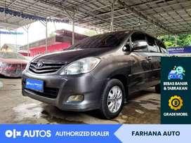 [OLX Autos] Toyota Innova 2.0V Matic 2010 Bensin DP 30JT #Farhana Auto