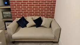 2 Seater Habit Design Sofa With Cushions