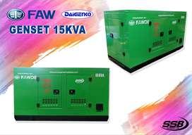 Genset FAW 15 KVA Silent