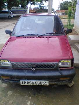 Maruti 800 dx petrol vehicle for sale urgently