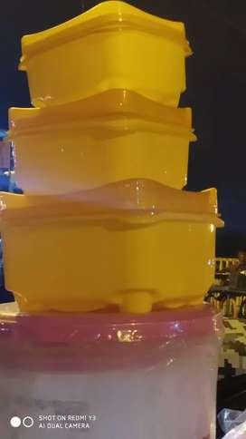 Plastic tifin box