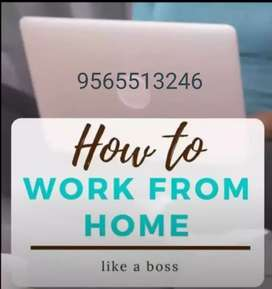Hii very easy and earning part time job at home