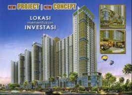 Jual milik sendiri, tanpa fee broker Apartement tengah kota 2 br