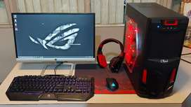 Gaming Desktop HighEnd Graphics Available in Chip Rate