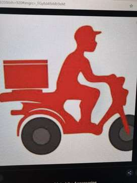 Riders for delivery on bike