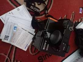 Sony a6300 + lensa sigma 30mm