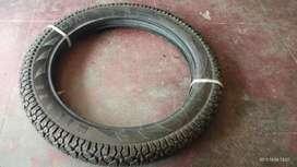 Bullet back tyre tube