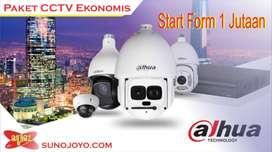 PAKET CCTV MURAH dan bergaransi resolusi 2mp