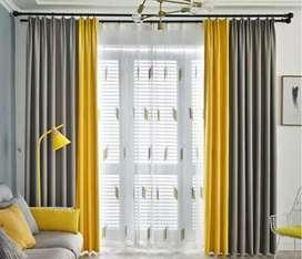 Promo pasang gorden vitrase blinds hordeng jendela7