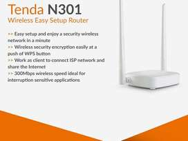 Tenda tplink router and devices available