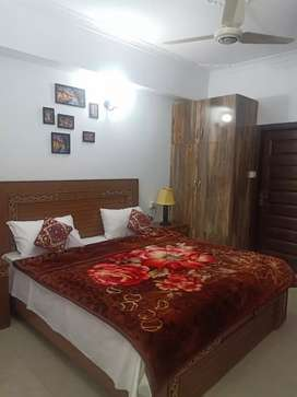 E11/2 Guest house 2 bedroom furnished apartment available for rent