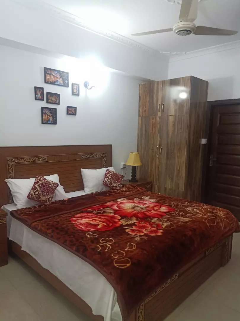 E11/2 Guest house 2 bedroom furnished apartment available for rent 0
