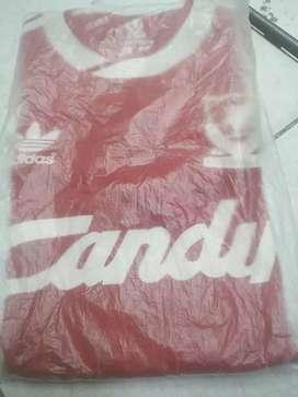 Dijual kaos jersey liverpool candy warna merah
