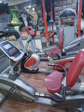 Gym cycles and crosstrainers