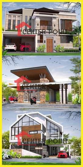 Desain Arsitek Gambar RAB IMB Kontraktor Rumah di Bitung