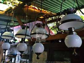 Lampu gantung antik kuningan klasik dekorasi lampu lawasan lampu joglo