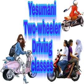 Yesumani Two-wheeler Driving classes for ladies