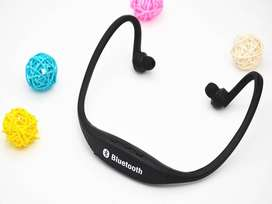 Sports Bluetooth Earphone S9 With MicroSD Card Supported