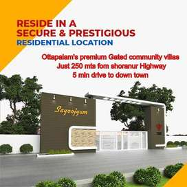 5 min drive to Town - Get Easy Loan -Buy your dream house in ottapalam