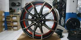 velg racing jazz mobilio freed genio nova ring 16 model thunder