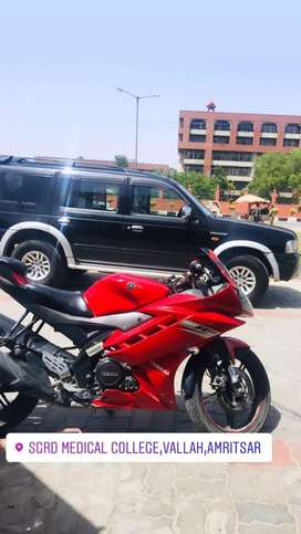 I want sell my bike R15 urgent sale