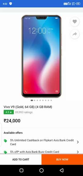 Vivo v9 mobile good condition