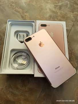 Iphone 7 plus 128gb Factory unlocked,( PTA APPROVED ) ORIGNAL 10/10