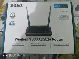 D-link N300 router