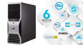 Dell T5500 HP Z600 computer workstastion server system with warrenty