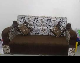Good condition sofa and 2 pillow