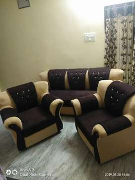 Sofa maker 5 seater brand new three plus one plus one wholesale rate