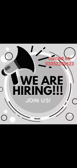 URGENT STAFF REQUIRED MALE/FEMALE. FOR CALL CENTRE.