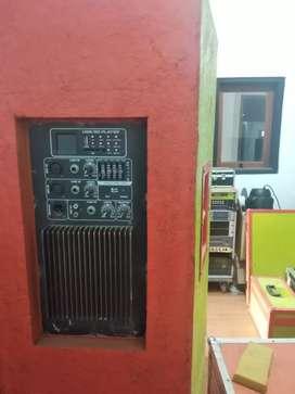 Jual satu paket soundsystem gantung dan perlengkapan panggung lain