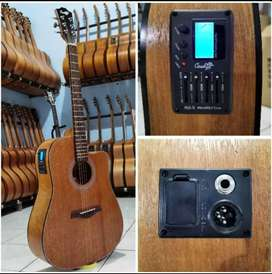 Jual gitar & ampli mini amplifier