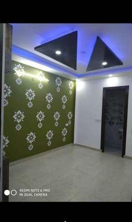 2bhk builder floor,modular amenities,car parking,90%loan available