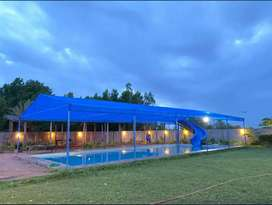 Green and lavish luxury farmhouse with water sports activities