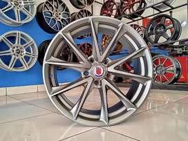 Ready velg HRE ring 18x8 pcd 5x114.3 et 40 Alphard Innova