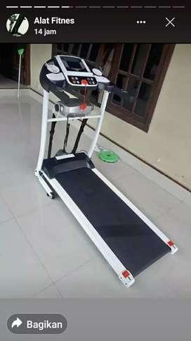 firnes health termurah treadmill elektrik 2 fungsi bonus twister