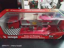 Shell Ferrari hauler