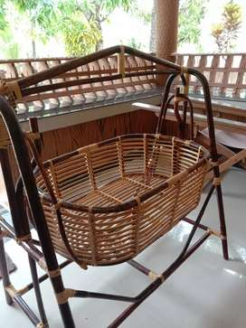 Bamboo cradle