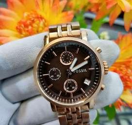 Di jual jam tangan wanita Fossil