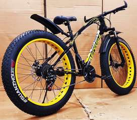 Fat Tyre Cycle New Sports Model 2020 21 Gears