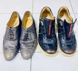 Paket Hemat Sepatu Branded : Salvatore Ferragamo & Prada