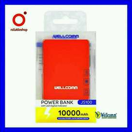 Wellcomm - Power Bank 10000 mAh 2.4A Mini