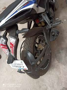 Bike condition is good but meter in not working. colours is white blue