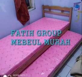 fullset ranjang sorong + busa arrow single bed