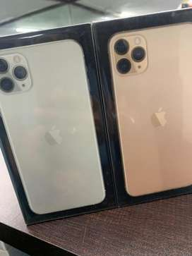 iPhone 11 pro Gold  64GB New Box pack GST Bill indin